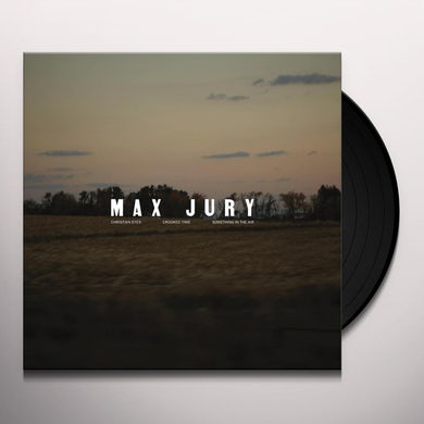 Max Jury SOMETHING IN THE AIR Vinyl Record