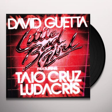 David Guetta LITTLE BAD GIRL Vinyl Record