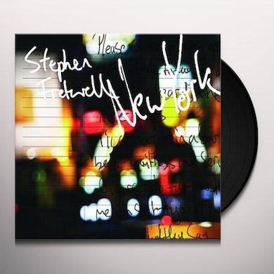 Stephen Fretwell NEW YORK Vinyl Record