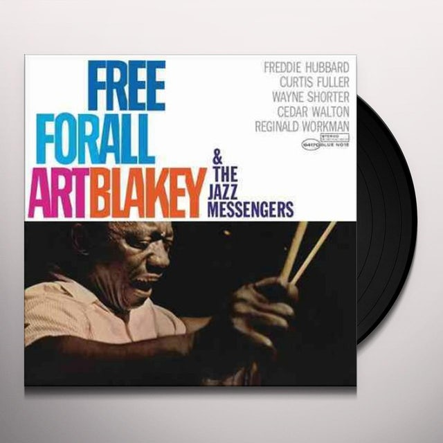 Art Blakey & The Jazz Messengers FREE FOR ALL Vinyl Record