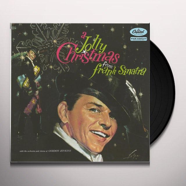 JOLLY CHRISTMAS FROM FRANK SINATRA Vinyl Record