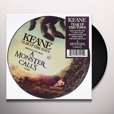 Keane TEAR UP THIS TOWN Vinyl Record