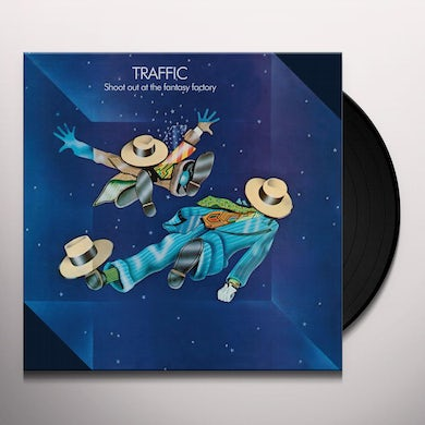 Traffic SHOOT OUT AT THE FANTASY FACTORY Vinyl Record