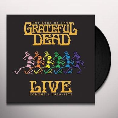 BEST OF THE GRATEFUL DEAD LIVE: 1969-1977 - VOL 1 Vinyl Record