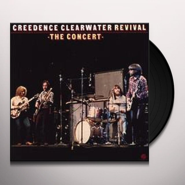 Creedence Clearwater Revival CONCERT Vinyl Record