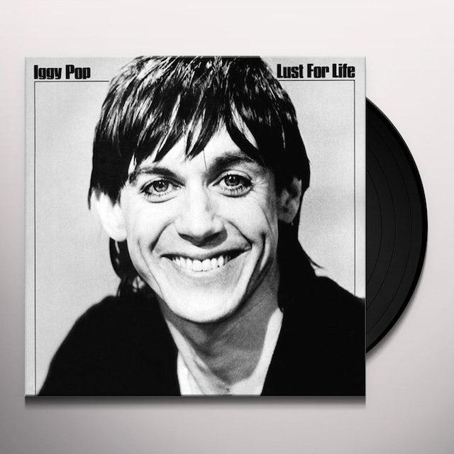 Iggy Pop LUST FOR LIFE Vinyl Record
