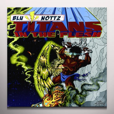 Blu & Nottz TITANS IN THE FLESH Vinyl Record