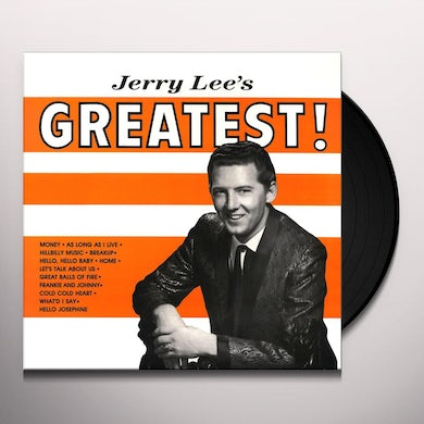 Jerry Lee Lewis JERRY LEE'S GREATEST Vinyl Record