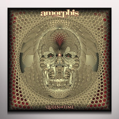 Amorphis QUEEN OF TIME - Limited Edition Red Colored Vinyl Record