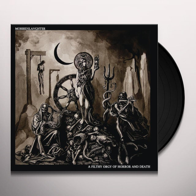 Morbid Slaughter FILTHY ORGY OF HORROR AND DEATH Vinyl Record