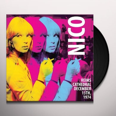 Nico REIMS CATHEDRAL - DECEMBER 13 1974 Vinyl Record