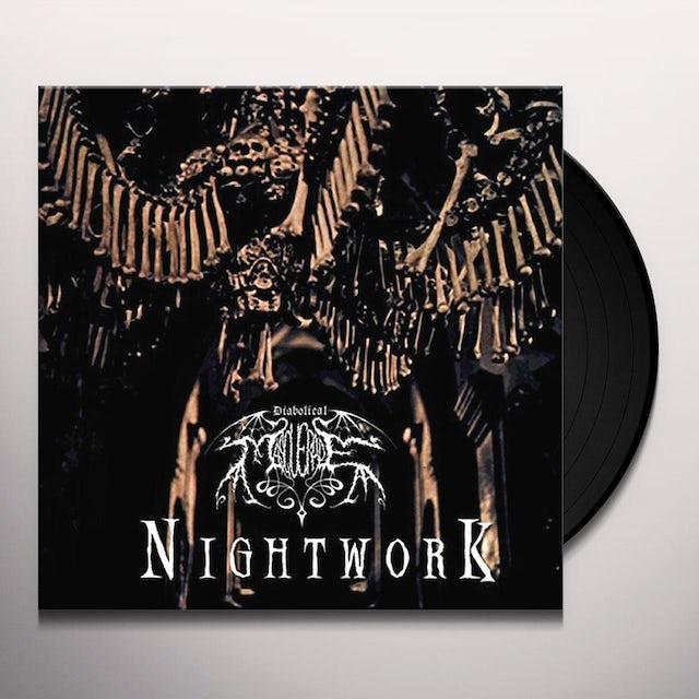 DIABOLICAL MASQUERADE NIGHTWORK Vinyl Record