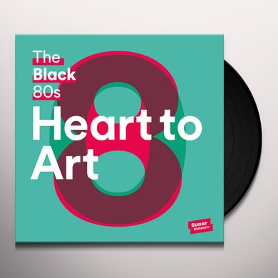 Black 80S HEART TO ART Vinyl Record