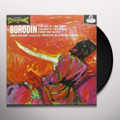 Ernest Ansermet BORODIN SYMPHONIES NOS. 2 & 3 Vinyl Record