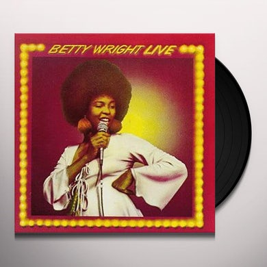 BETTY WRIGHT LIVE Vinyl Record