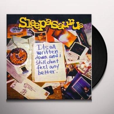 Sleepesaurus IT'S ALL WRITTEN DOWN (Vinyl)