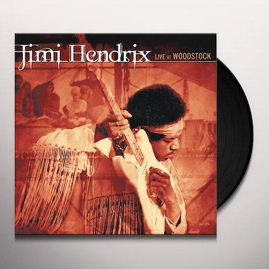 Jimi Hendrix Live At Woodstock Vinyl Record