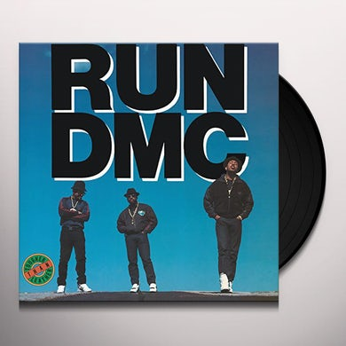 Run DMC TOUGHER THAN LEATHER Vinyl Record