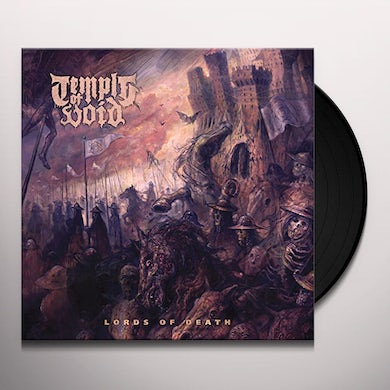 Temple Of Void LORDS OF DEATH Vinyl Record