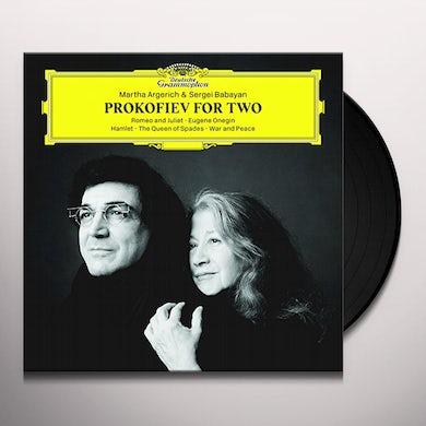 Martha Argerich PROKOFIEV FOR TWO Vinyl Record