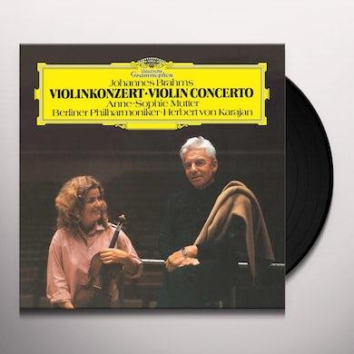 Anne-Sophie Mutter Brahms: Violin Concerto In D, Op.77 (LP) Vinyl Record