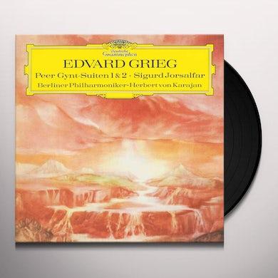 Grieg PEER GYNT SUITE NO 1 OP 46 / SUITE NO 2 OP 55 Vinyl Record