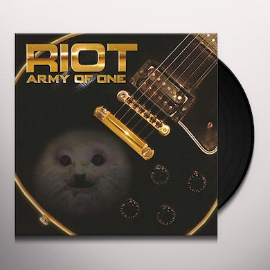 Riot ARMY OF ONE Vinyl Record