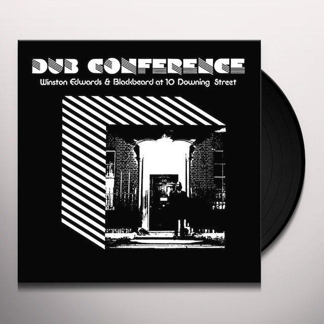 Winston Edwards & Blackbeard AT 10 DOWNING STREET Vinyl Record - UK Release