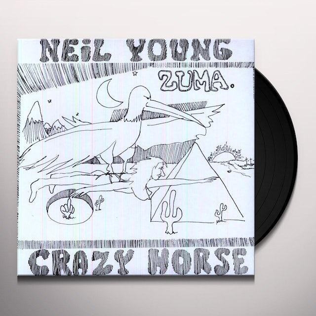 Neil Young ZUMA Vinyl Record