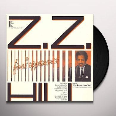 Z.Z. Hill FINAL APPEARANCE Vinyl Record