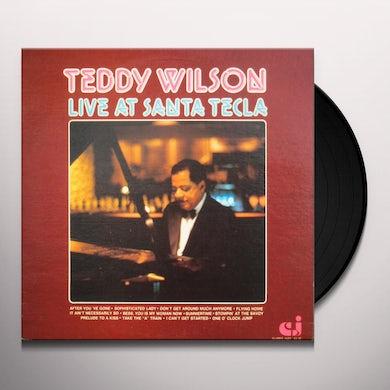 Teddy Wilson LIVE AT SANTA TECLA Vinyl Record