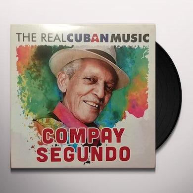 Compay Segundo REAL CUBAN MUSIC Vinyl Record