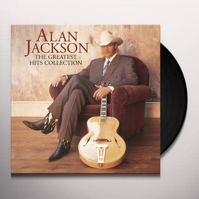 Alan Jackson GREATEST HITS COLLECTION Vinyl Record
