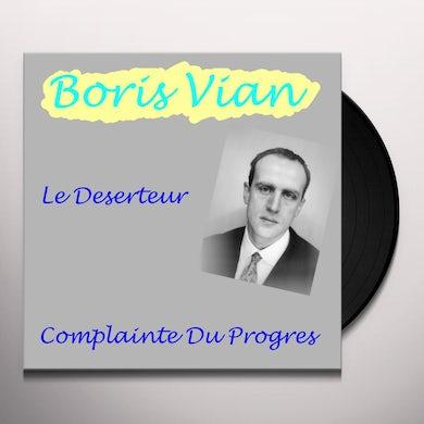 Boris Vian LE DESERTEUR Vinyl Record