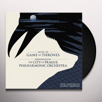 City Of Prague Philharmonic Orchestra MUSIC OF GAME OF THRONES Vinyl Record