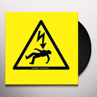 Wolfhounds ELECTRIC MUSIC Vinyl Record