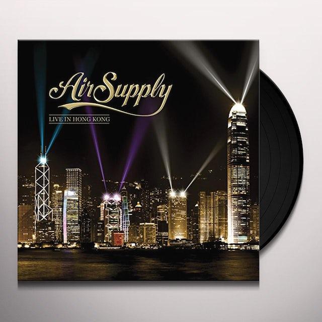 Air Supply LIVE IN HONG KONG Vinyl Record