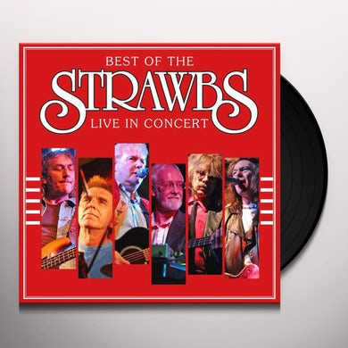 Strawbs BEST OF: LIVE IN CONCERT Vinyl Record