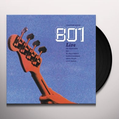 Phil Manzanera 801 LIVE Vinyl Record