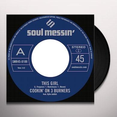 Cookin' on 3 Burners THIS GIRL / FOUR 'N TWENTY Vinyl Record