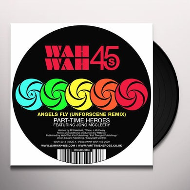 Part Time Heroes REMIX EP Vinyl Record