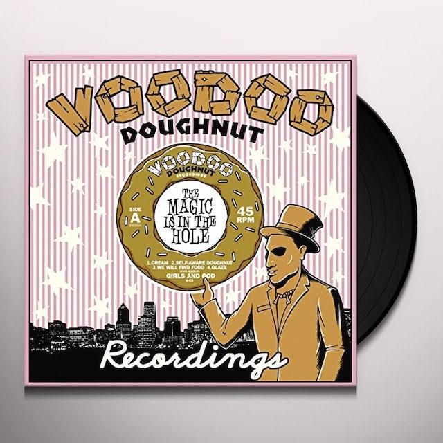 GIRLS & GOD / TRES GONE EXPERIMENTAL SPLIT Vinyl Record