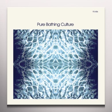 PURE BATHING CULTURE (BLUE & MILKY CLEAR VINYL) Vinyl Record