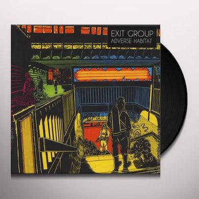 Exit Group ADVERSE HABITAT Vinyl Record