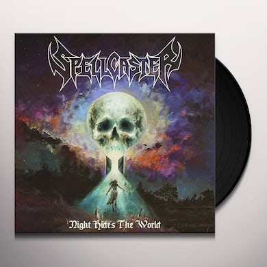 Spellcaster NIGHT HIDES THE WORLD Vinyl Record