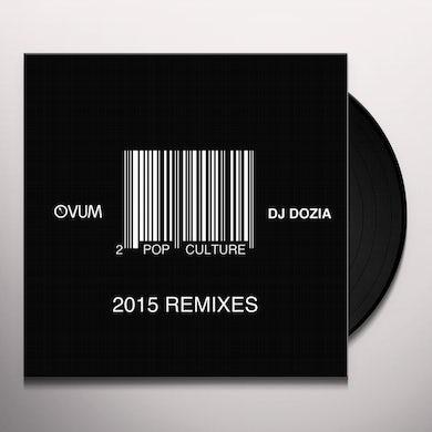 DJ Dozia POP CULTURE REMIXES PT. 2 Vinyl Record