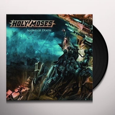 Holy Moses AGONY OF DEATH Vinyl Record