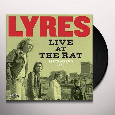 LIVE AT THE RAT SEPTEMBER 3 1980 Vinyl Record