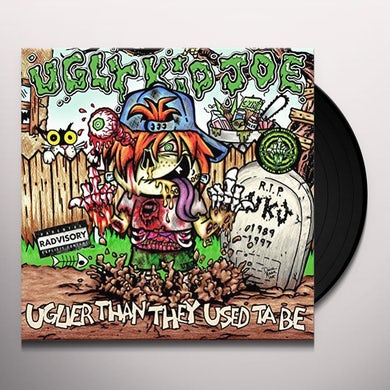 Ugly Kid Joe UGLIER THAN THEY USED TA BE Vinyl Record