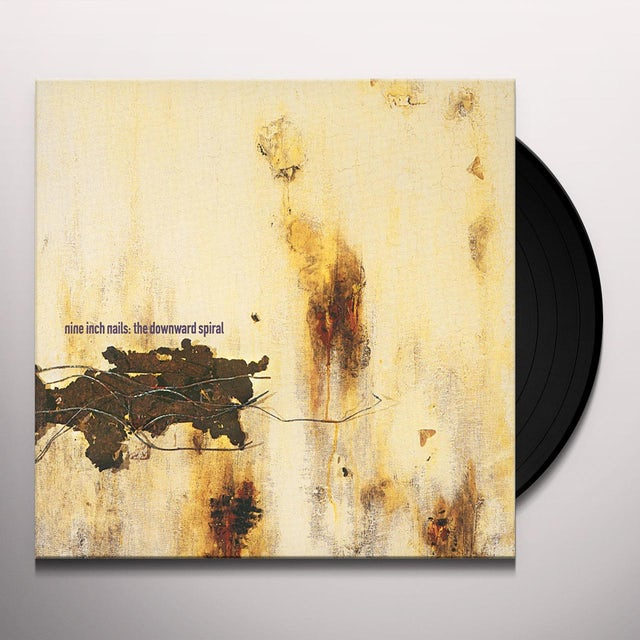 Nine Inch Nails DOWNWARD SPIRAL Vinyl Record